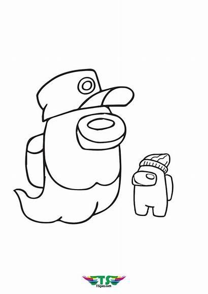 Coloring Among Sheets Ghost Funny Character Tsgos