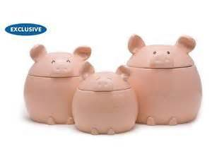 pig kitchen canisters 17 best images about gift giving ideas on salts and picnic backpack