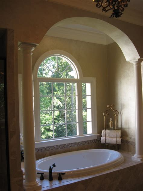 archway  front  arched window  tub dream
