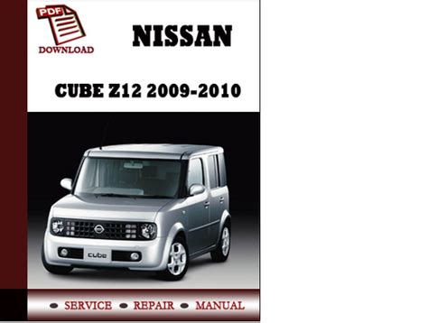 service and repair manuals 2010 nissan cube parking system pay for service manual nissan cube z12 2009 2010 repair manual pdf