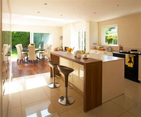 kitchen designs with islands and bars 30 contemporary breakfast bar design ideas