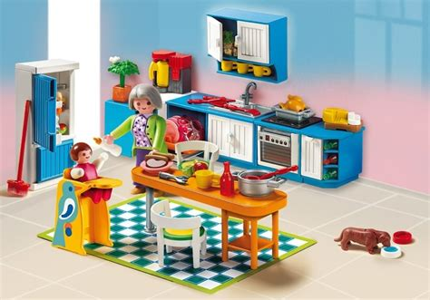 playmobil cuisine playmobil set 5329 grand kitchen klickypedia