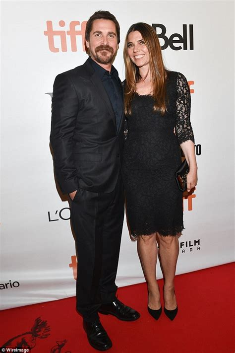 Christian Bale Holds Hands With Wife Sibi They Take