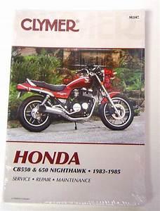 Honda Cb550 Cb650 Nighthawk 1983