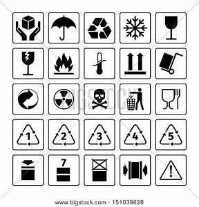 Packaging Symbols. Vector Package Vector & Photo   Bigstock