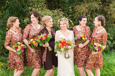 Autumn Wedding In The Country