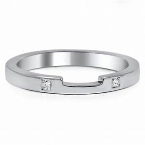 custom notched low profile wedding ring brilliant earth With low profile wedding ring