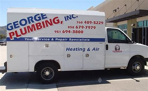 george plumbing company  temecula ca