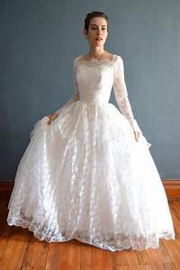 1950s wedding dress vintage 50s wedding dress caressa With vintage 50s wedding dresses