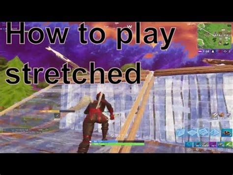 play stretched  fortnite custom resolution
