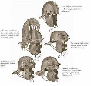Is There A Name For The Part Of A Medieval  Roman Helmet