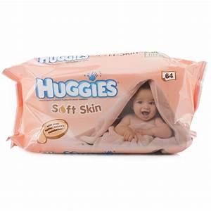 Huggies Soft Skin Baby Wipes | Chemist Direct