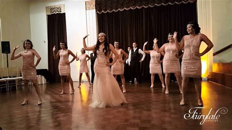 great gatsby crazy  love quinceanera surprise dance