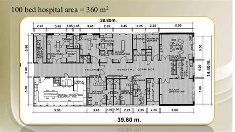 2 open floor plans hospital design