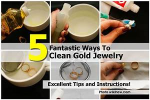 Clean Tarnished Gold Plated Jewelry