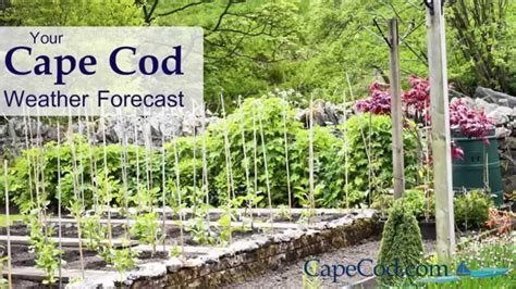 Cape Cod Weather The Forecast For April 7th, 2015 Youtube