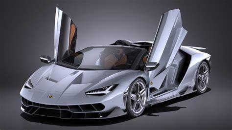 lamborghini centenario lp  roadster   model