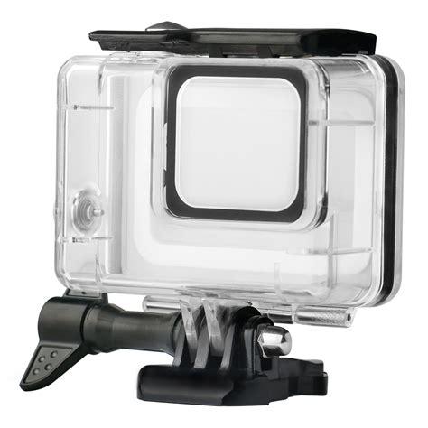 waterproof case gopro hero white silver
