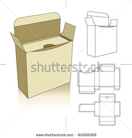 Perfume Box Template  Perfume And Cream Research