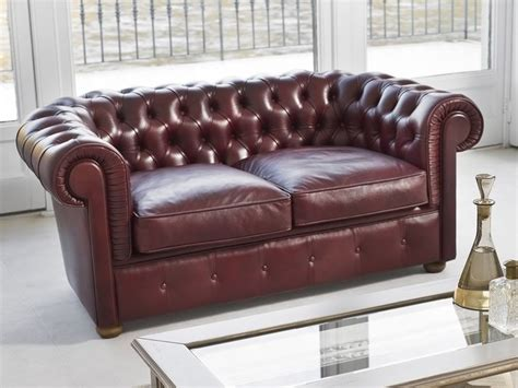 canapé cuir classique messier 4382 canapé classique à 2 places tonin casa