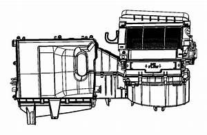 2012 Chrysler 200 Housing  Blower Motor  Panel  Instrument