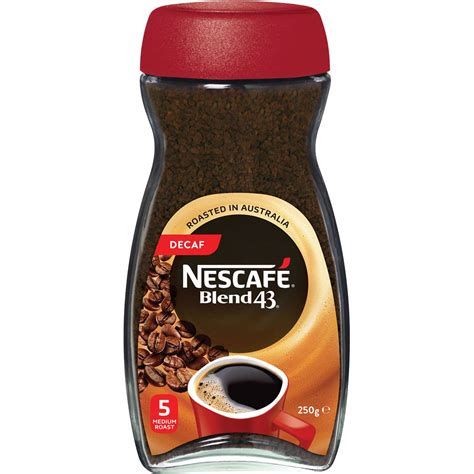 Most places will give you hot water for free or a token amount for the cup. Nescafe Blend 43 Decaffeinated Instant Coffee