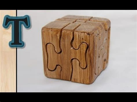 woodworking project puzzle cube youtube