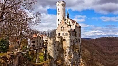 Castle Wallpapers Desktop Chateau Wallpapersafari Minecraft Blanc