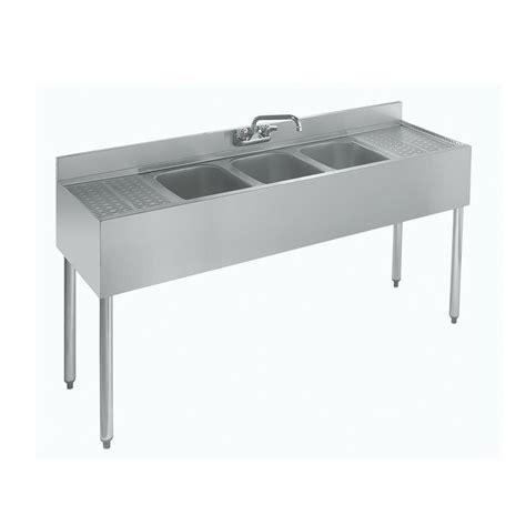 3 compartment sink price krowne 18 53c 60 quot 3 compartment sink w 10 quot w x 14 quot l bowl