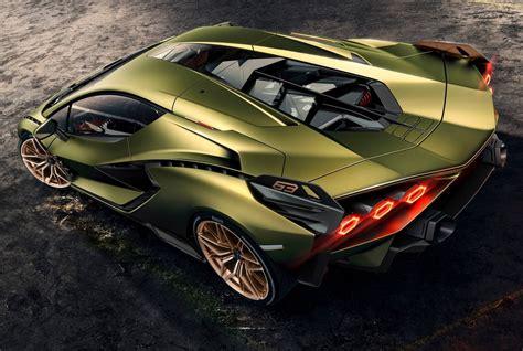 Lamborghini Sián Hybrid Supercar With 819hp and 2.8 ...