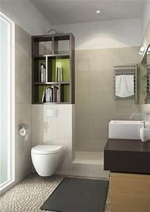 8 idees d39amenagement de petite salle de bain deco cool for Petite salle de bain avec wc