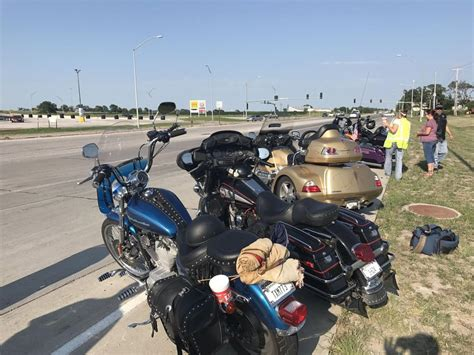 Bikers Ride To Honor Motorcyclist Killed In Overnight