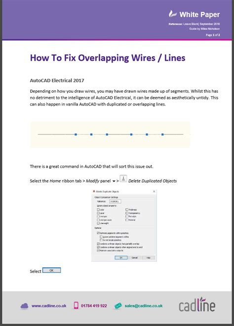 autocad electrical 2017 how to fix overlapping wires lines cadline community