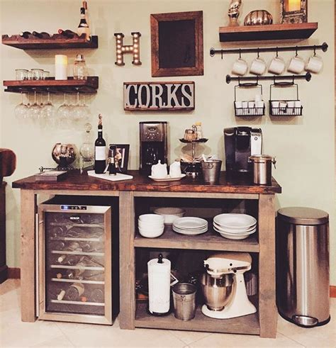 Home Bar Decor by 25 Diy Coffee Bar Ideas For Your Home Stunning Pictures