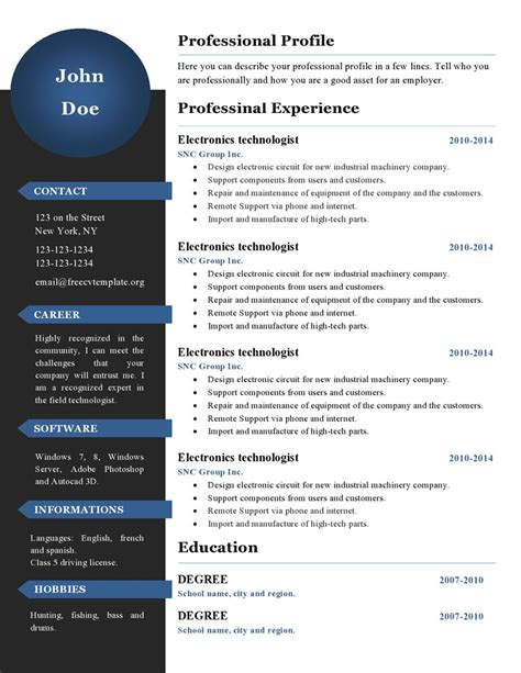 New Resume by New Resume Templates Learnhowtoloseweight Net
