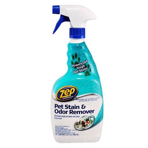 Stain Remover Products by Zep 32 Oz Pet Stain And Odor Remover Of 12