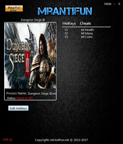 dungeon siege trainer dungeon siege 3 trainer 3 upd 18 03 2017 mrantifun