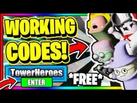 Posted on january 4, 2021 by admin. (MAY 2020) ALL *NEW* SECRET OP WORKING CODES! Roblox Tower ...