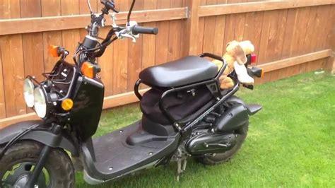 honda ruckus scooter seat storage