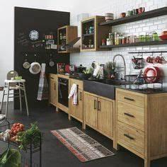 ensemble cuisine copenhague maison du monde maison With plan de travail exterieur 0 meubles sensation beton specialiste du beton cire