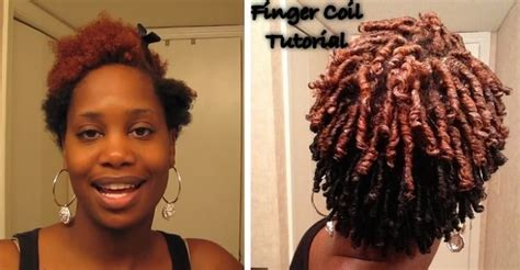 Finger Coils, An Easy Styling Options For Super Coily Hair