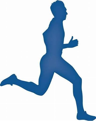 Running Runner Legs Silhouette Clipart Cut Transparent