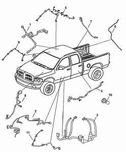 2007 Dodge Ram 2500 Wiring Body Front