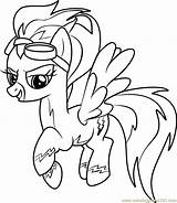 Pony Coloring Little Pages Misty Fly Drawing Pie Horse Colouring Pinkie Ddlg Magic Friendship Burning Wood Templates Coloringpages101 Drawings Unicorn sketch template