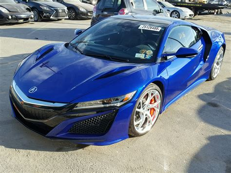 2017 acura nsx normal wear damage 19unc1b03hy000198