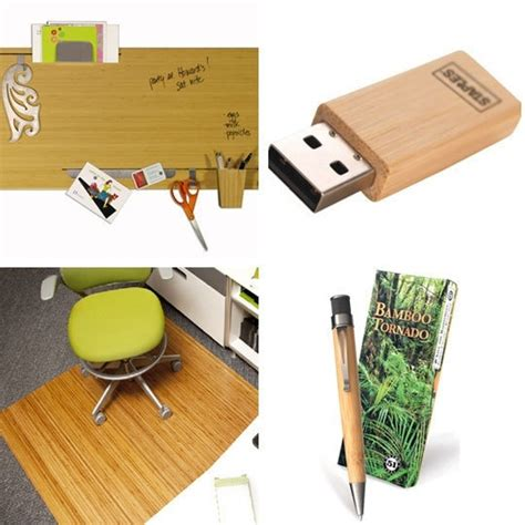 cool things for your desk cool sustainable bamboo office stuff your desk pinterest
