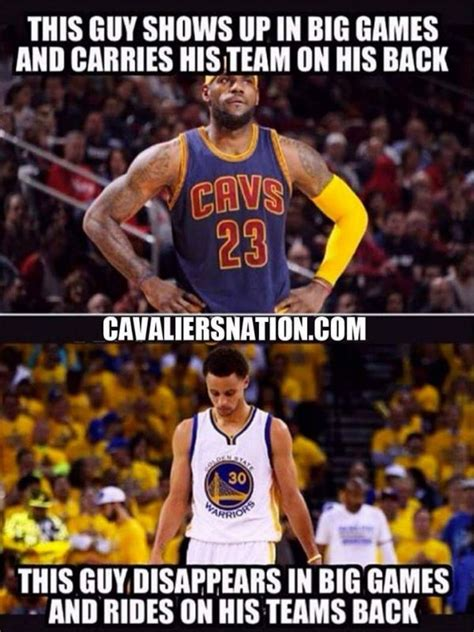 memes  lebron james kyrie irving torching  golden state warriors