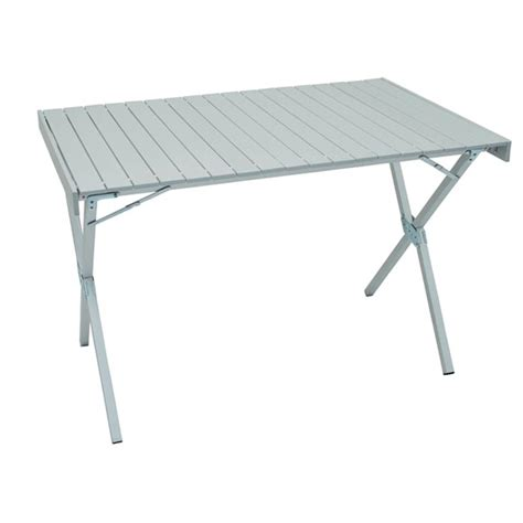 outdoor aluminum fold up dining table