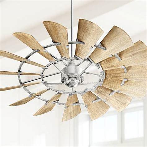 quorum windmill ceiling fan 60 quot quorum windmill galvanized ceiling fan 1t281