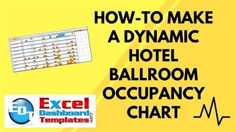dynamic hotel ballroom occupancy chart youtube